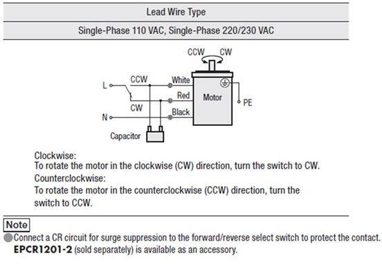 Standard ac motor question 24 how do i connect up an induction induction reversible cheapraybanclubmaster Choice Image